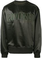 Juun.J Covered sweatshirt - men - Cotton/Polyester/Acetate - 46