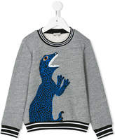 Paul Smith teen logo print sweatshirt
