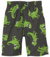 I Play Boys' Black TRex Swim Diaper Pocket Trunks (6mos-4yrs) - 8114078