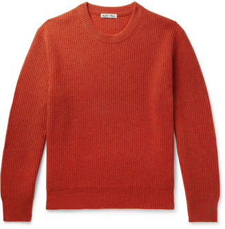 Alex Mill Jordan Ribbed Washed-Cashmere Sweater