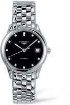 Longines Analog Diamond and Stainless Steel Watch