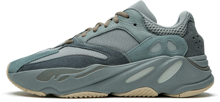 Adidas Yeezy Boost 700 'Teal Blue' Shoes - Size 4