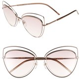 Marc Jacobs Women's 56Mm Cat Eye Sunglasses - Gold Copper