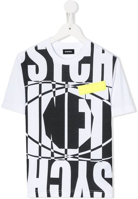 Diesel loose fit graphic print T-shirt