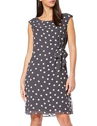 Comma Women's 8T.903.82.8307 Dress, Multicolour AOP Dots Small 96M9, (Herstellergröße: 42)