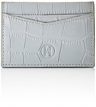 Ha Designs Personalised Croc Initial Grey Card Holder