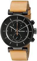 Issey Miyake Men's SILAY006 W Analog Display Quartz Brown Watch