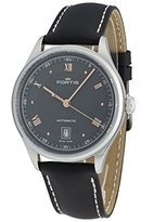 Fortis Men's 902.20.21 L.01 19Fortis Analog Display Automatic Self Wind Black Watch