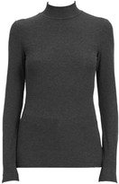 Theory Ribbed Turtleneck Top