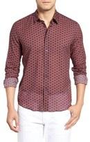 Vilebrequin Men's Regular Fit Anchor Print Sport Shirt