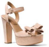 Michael Kors Lexington Suede Platform Sandals