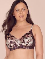 Marks and Spencer Silk & Lace Printed Post Surgery Padded Bra A-DD