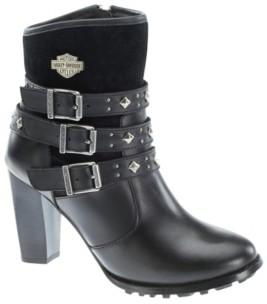 Harley-Davidson Women's Abbey Lug Sole Boot Women's Shoes