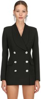 Alessandra Rich LVR EDITION WOOL BLAZER DRESS