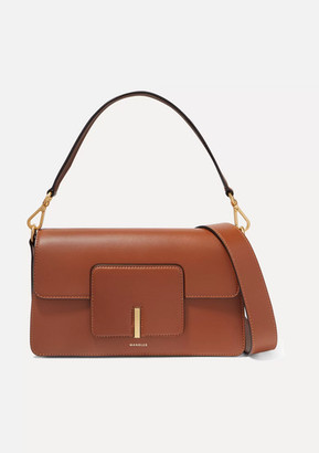 Wandler Georgia Leather Shoulder Bag - Tan