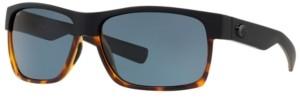 Costa del Mar Polarized Sunglasses, Half Moon 60