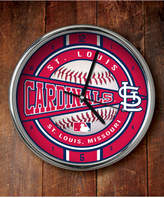 Memory Company St. Louis Cardinals Chrome Clock