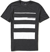 Armani Exchange Stripe Graphic Short-Sleeve Tee