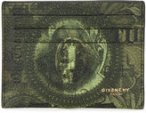 Givenchy Abstract dollar cardholder - men - Cotton/Polyester/Polyurethane - One Size