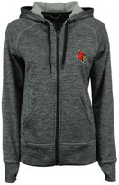 adidas Women's Louisville Cardinals Primary Logo Full-Zip Hoodie