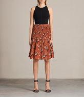 AllSaints Etta Kirsch Skirt