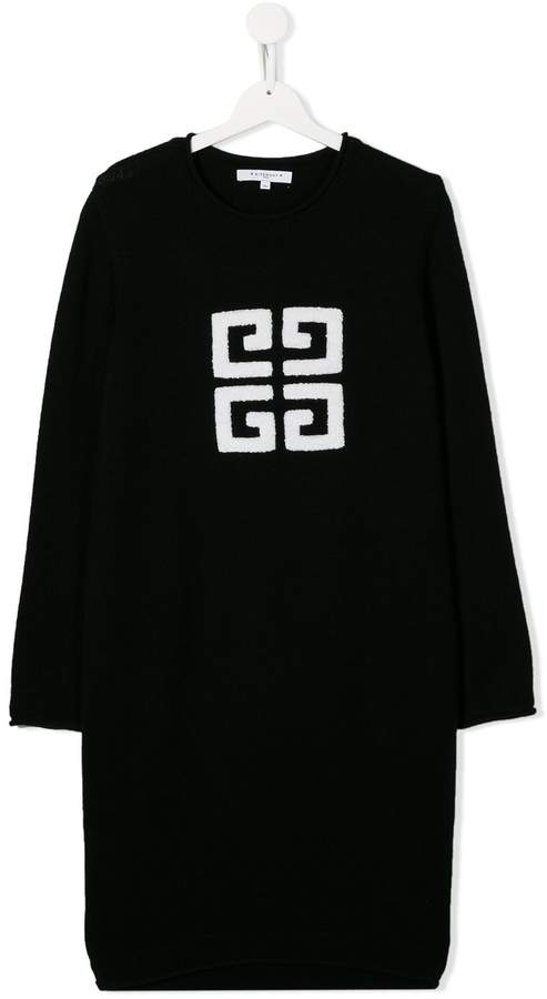 Givenchy Kids TEEN 4G knitted dress
