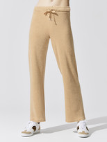 Donni Terry Cropped Flare Pant