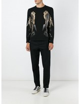 Neil Barrett bird print sweatshirt