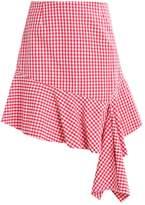 Weekday BRENDA Aline skirt red
