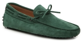Tod's Final Sale Laccetto Suede Loafer