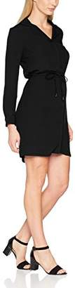 La Petite Francaise Women's Rosana Party Dress, (Black), 8