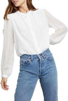Rails Camilla Silk Button-Down Shirt