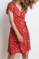 Velvet Floral Dress