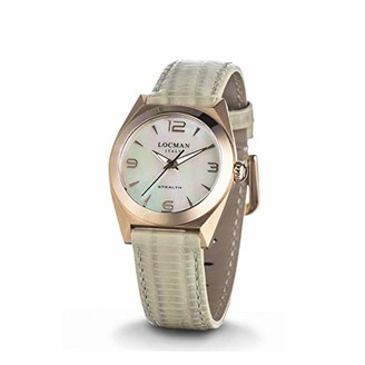 Locman Analog Quartz Watch with Stainless Steel Strap Clear 3 (Model: 4573282437810)