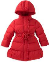 Kate Spade Girls' Rosette Puffer Coat - Big Kid
