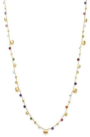 Marco Bicego 18K Yellow Gold Paradise Teardrop Long Gemstone Necklace, 34""