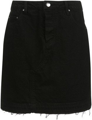 Amiri Denim Mini Skirt