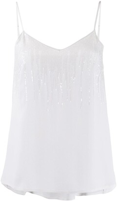 Fabiana Filippi Sequinned Tank Top