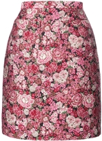 ADAM by Adam Lippes Floral Mini Skirt