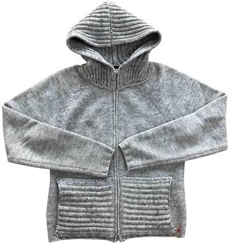 Trussardi Grey Wool Knitwear for Women