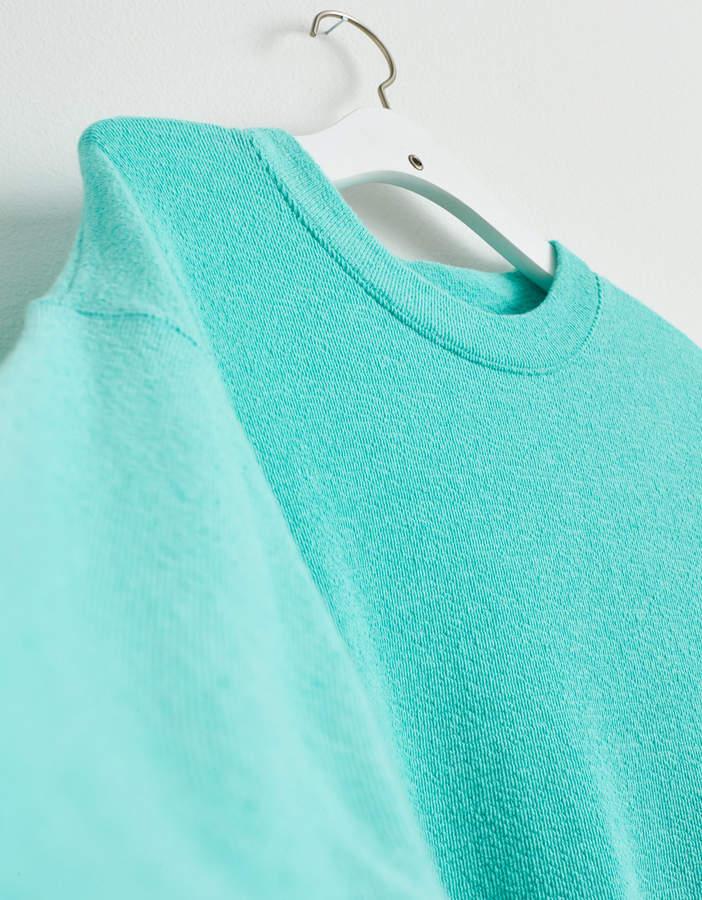 Womens Crew Neck Long Sleeve Fleece Tops Shopstyle