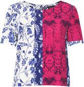 Topshop Floral Print Tee