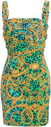 Versace Baroque Printed Bodycon Dress