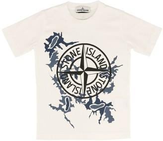 Stone Island Junior Printed T-shirt