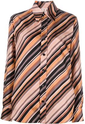 Marni Striped Silk Shirt