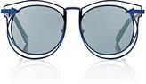 Karen Walker Women's Simone Sunglasses-Blue