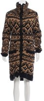 Yigal Azrouel Patterned Wool Cardigan