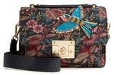 Sam Edelman Gessica Jacquard Shoulder Bag - Black