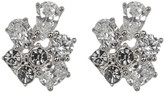 Nadri Small CZ Cluster Earrings