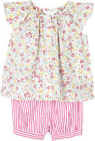 Ralph Lauren Floral cotton top and shorts set 3-24 months